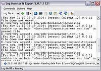 Log Monitor Export pour mac