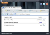 Word Password Recovery Lastic pour mac