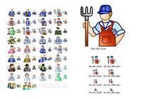 Job Icon Set pour mac