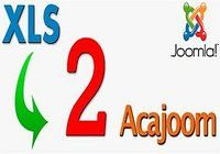 XLS 2 Acajoom pour mac