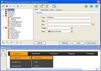 Horizontal Menu Advancer for Expression Web