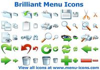 Brilliant Menu Icons