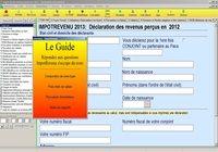 ImpotRevenu 2013 (revenus 2012) pour mac