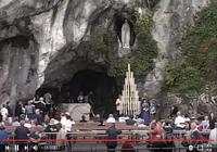 Le sanctuaire de la Grotte de Lourdes en direct pour mac