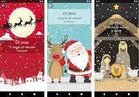 Compte à rebours de Noël iOS pour mac
