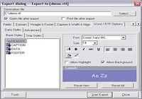 Advanced Data Export VCL pour mac