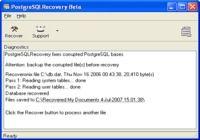 Recovery for PostgreSQL