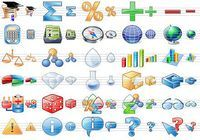Science Toolbar Icons pour mac